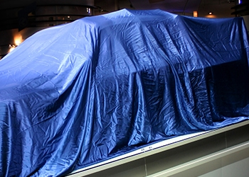 Product Launches Covered Car