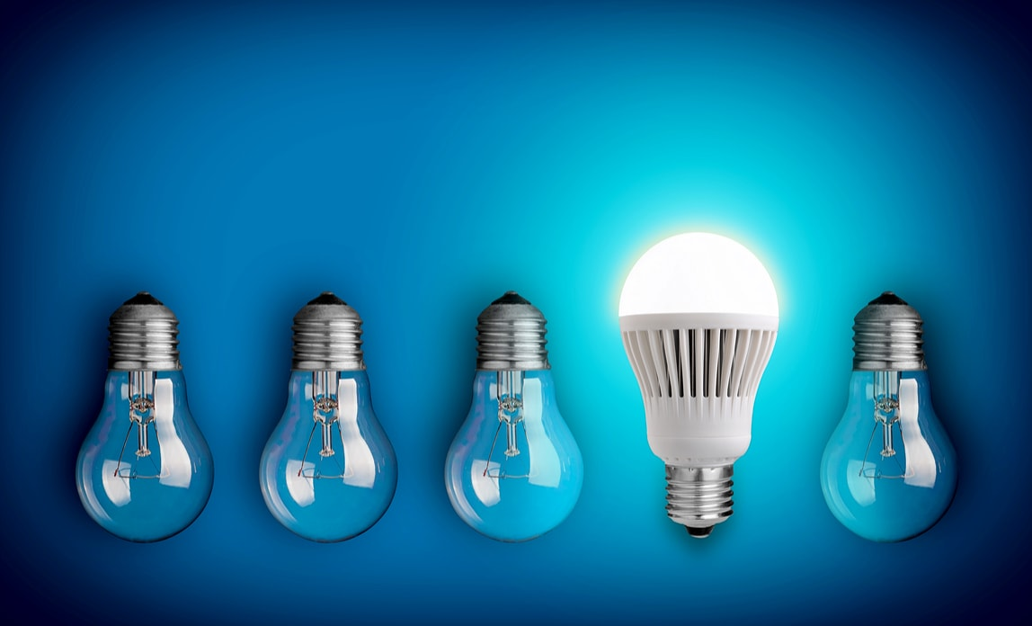 Corporate Events - Innovation Lightbulbs